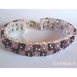 Bracelets with crystals from Swarovski®